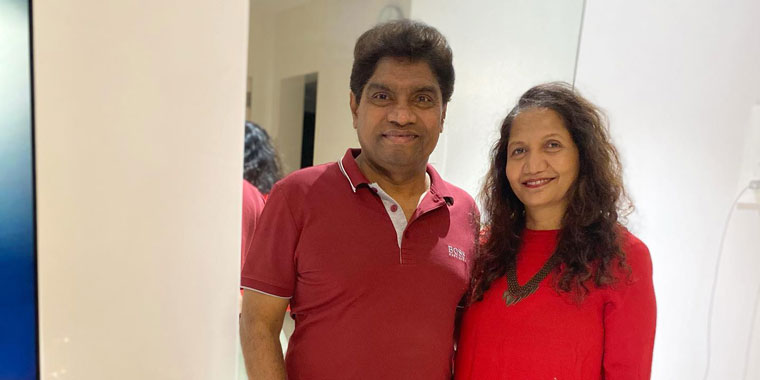 Sujatha Lever Johnny Lever Wiki