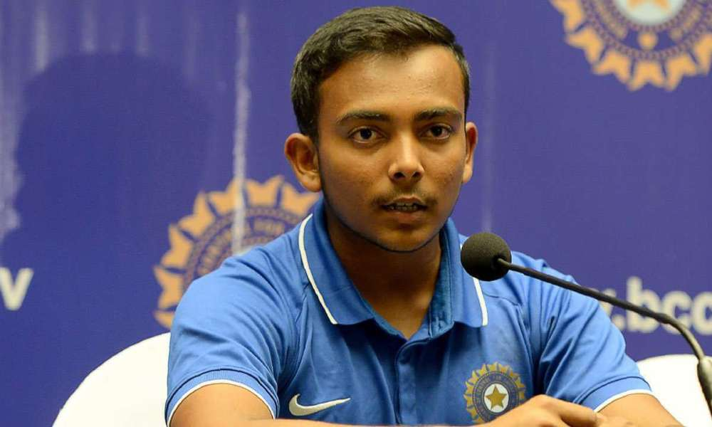 Prithvi Shaw Wiki, Biography, Age, Matches, Images