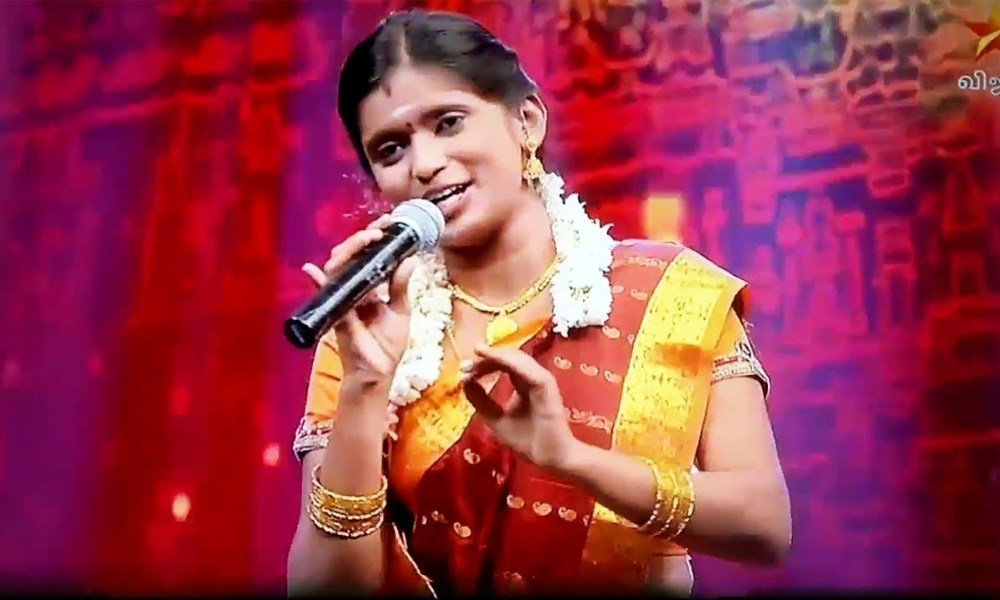 Super Singer Rajalakshmi Wiki, Biography, Age, Folk Songs, Husband, Movies