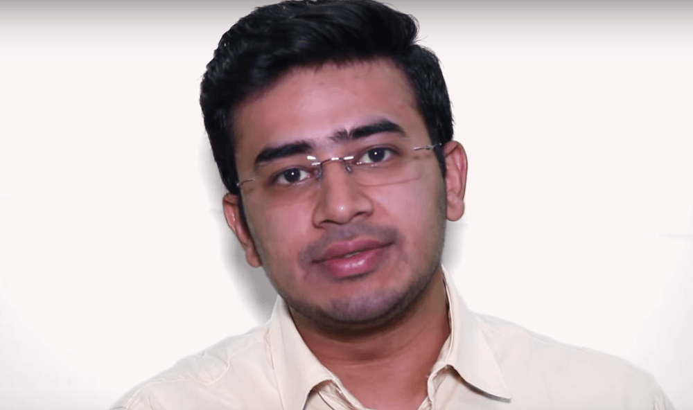 Tejasvi Surya Wiki, Biography, Age, Family, Images & More