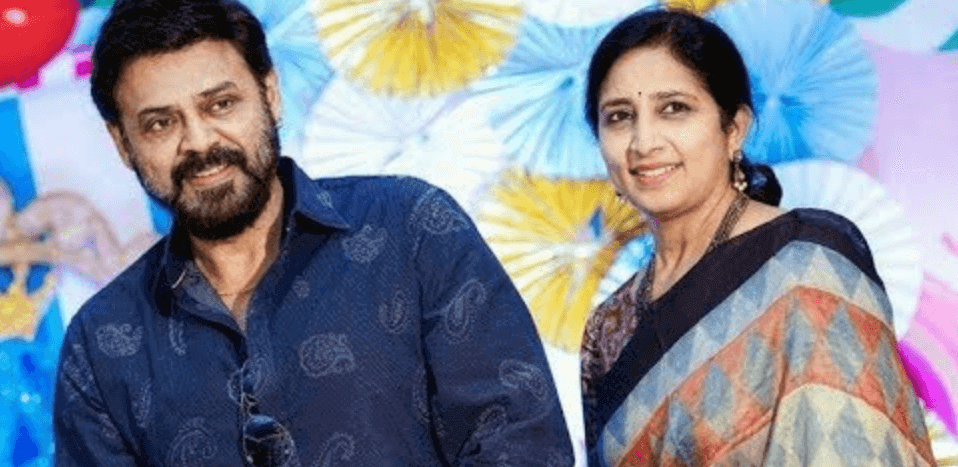 Venkatesh Neeraja (Venkatesh Daggubati's Wife) Wiki, Biography, Age, Images, Family & More